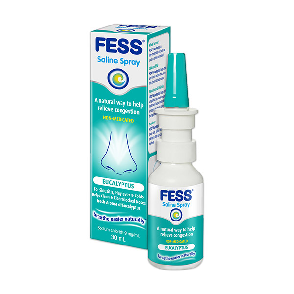 Fess Eucalypus Nasal Spray 30ml