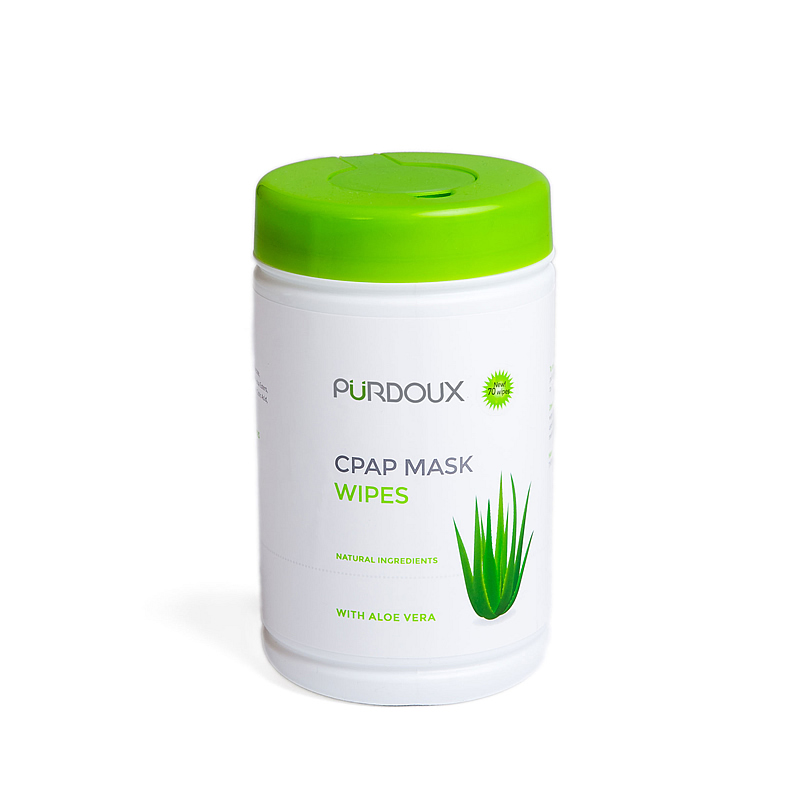 Purdoux Cpap Wipes Aloe Vera 70pk Unscented